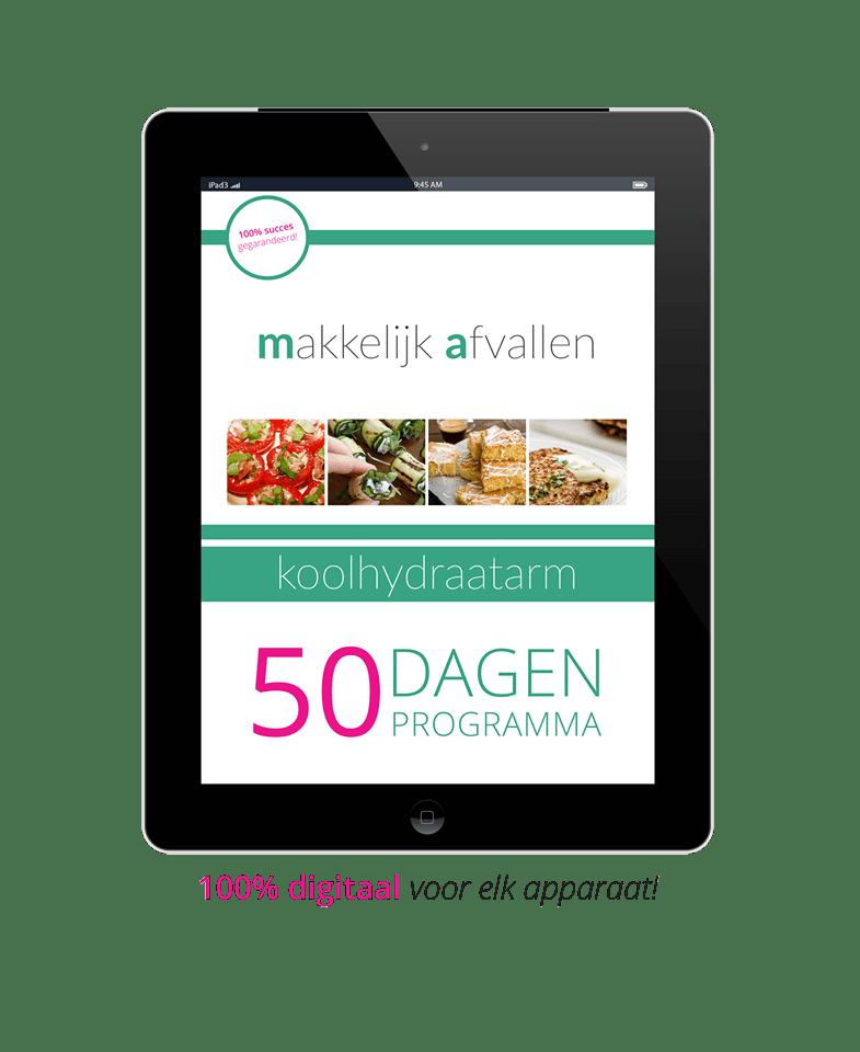50 dagen koolhydraatarm progrmma